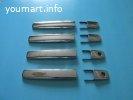 Накладки на ручки дверей хром Nissan Dayz