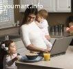 Подработка для мам в декрете и домохозяек.