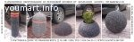 Резиновые парковочные столбики, полусферы, вазоны