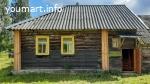Уютный деревянный домик с банькой в тихой симпатичной деревушке